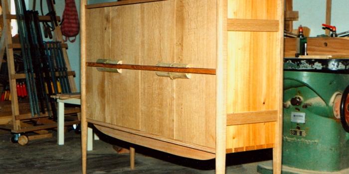 Schallplattencontainer