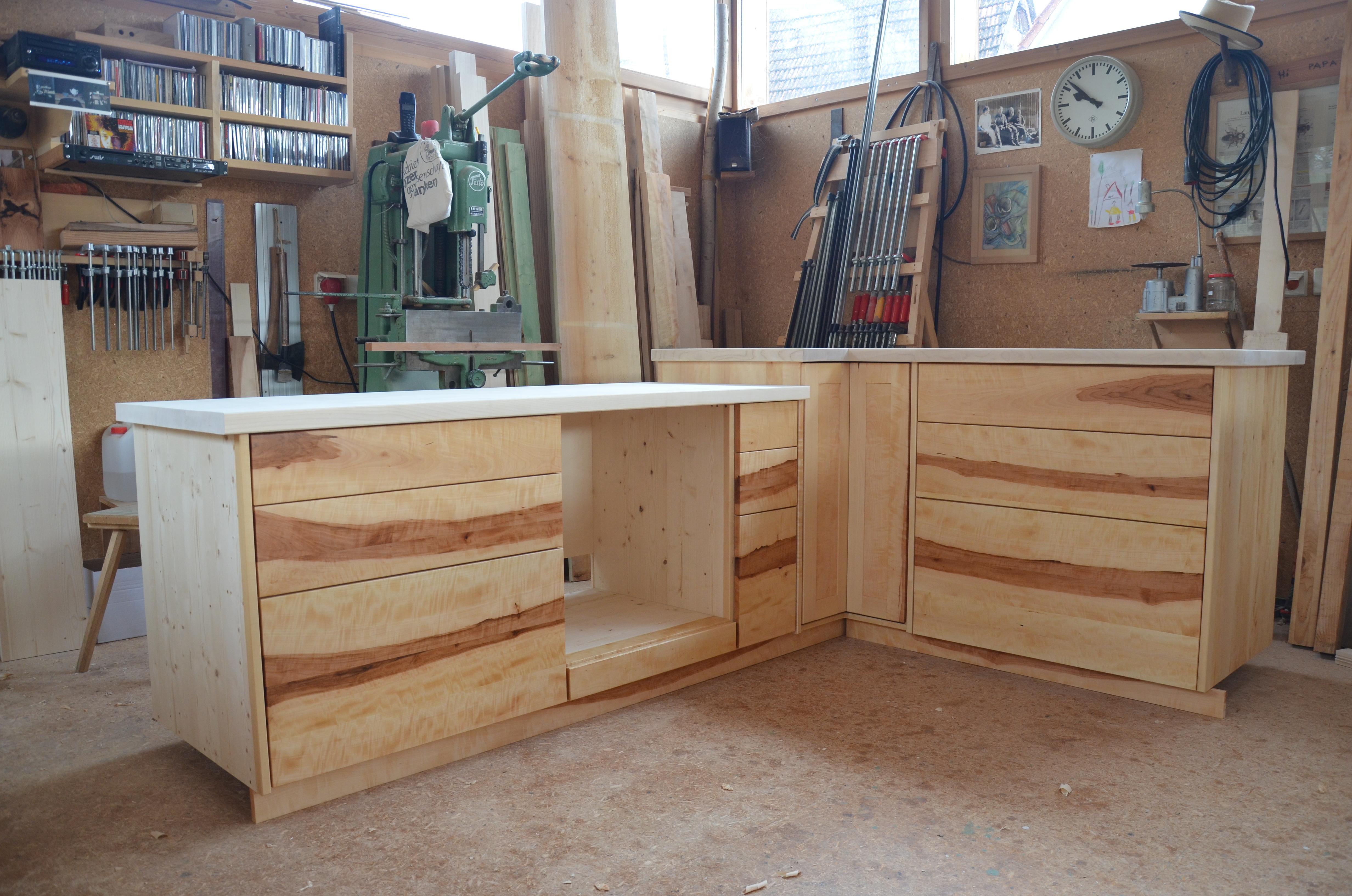 fresh k che sideboard mit arbeitsplatte images. Black Bedroom Furniture Sets. Home Design Ideas