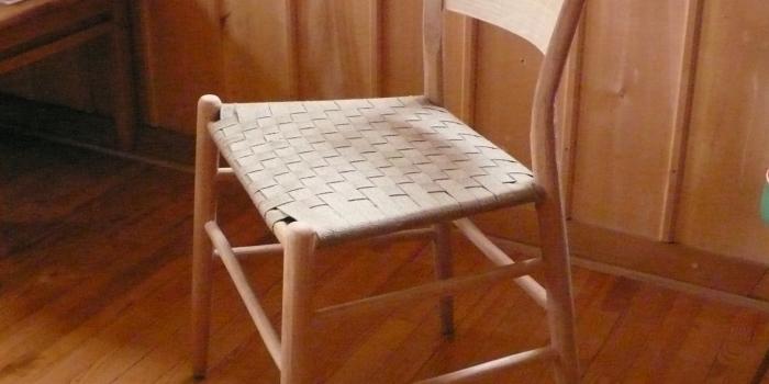 Neue Grünholzstühle !